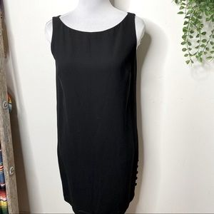 Laundry by Shelli Segal blck sleeveless cocktail 6